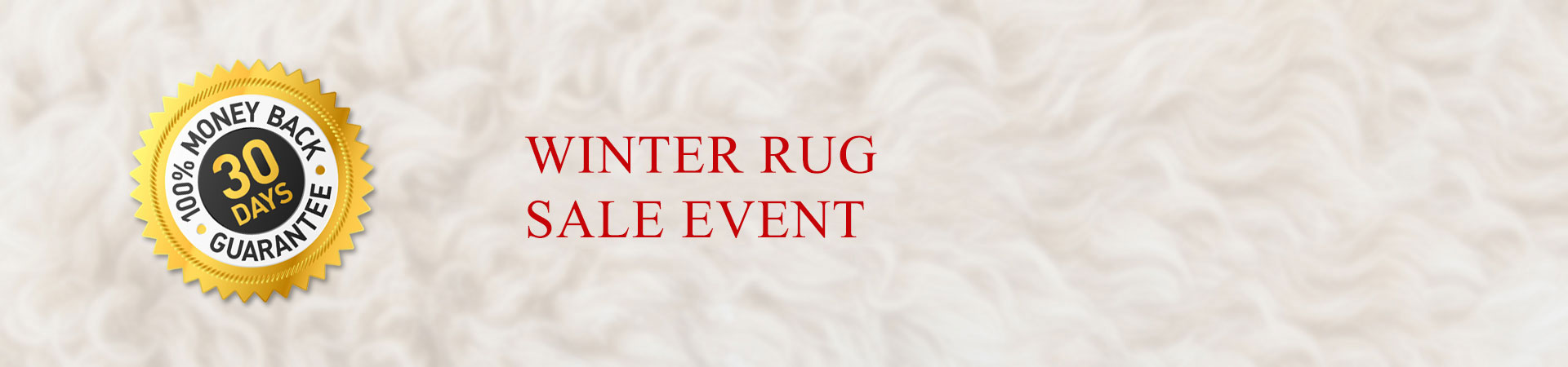 WINTER RUG SALE EVENT