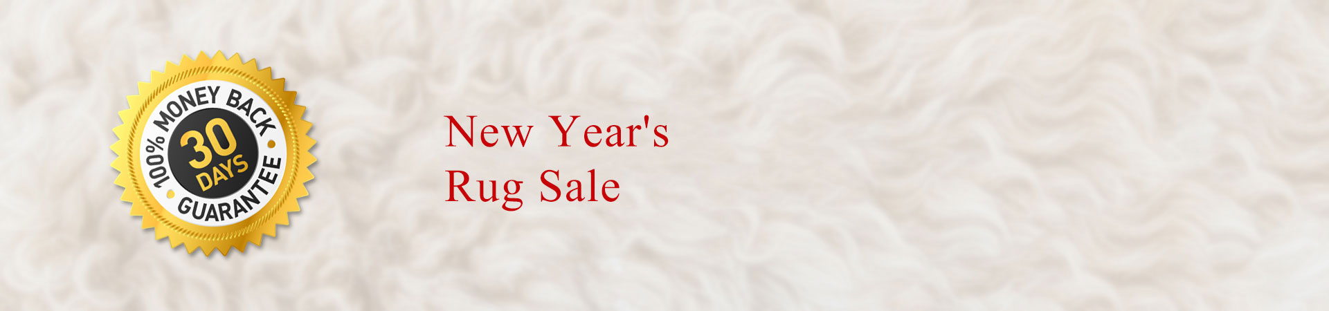 New Year's Rug Sale