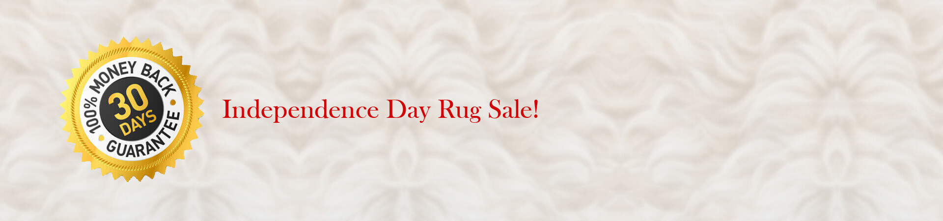 Independence Day Rug Sale