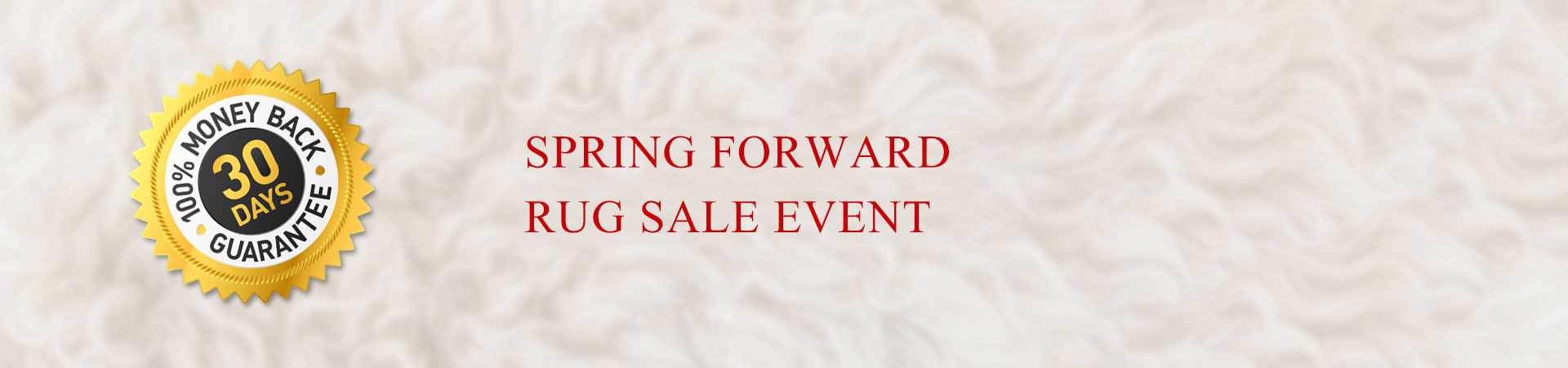 SPRING FORWARD RUG SALE EVENT